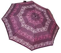 Женский зонт автомат 35092АС butterfly/ purple