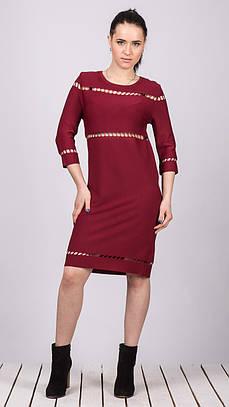Платье женское Dilvin DILVIN 1811 BORDO