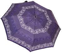 Женский зонт автомат 35092А/1  butterfly/ violet