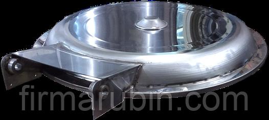 Крышка центрифуги КП-223 (Сталь 12Х17 AISI 430)