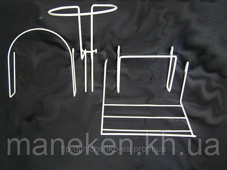 Полка для шапки вязанной ф3,5,оконтовка ф4, фото 2