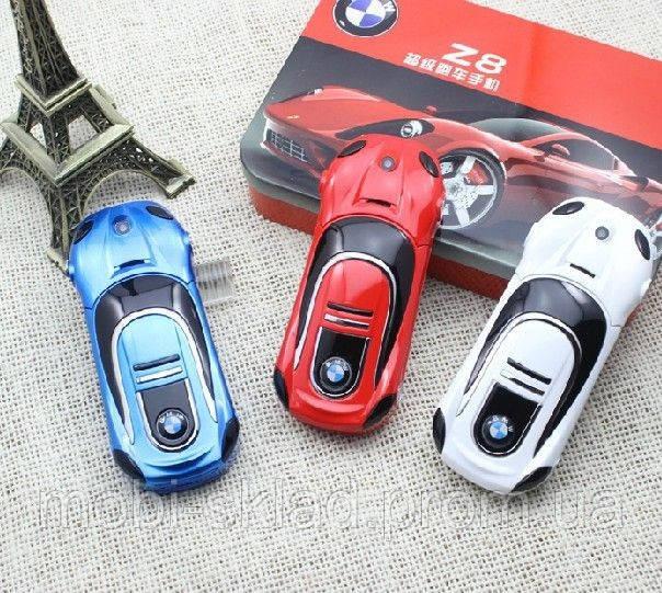 Телефон-машинка BMW Z8, дисплей 2 дюйма, 2 сим. Китай