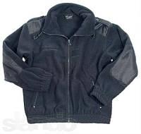 Куртка флисовая французкая черная ( MFH) Германия
