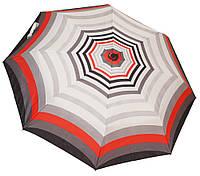 Стильный женский зонт автомат 6107/1 полосы red