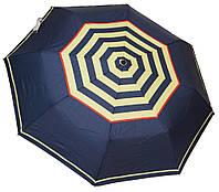 Стильный женский зонт автомат 6107/3 полосы blue