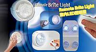 Настенный светильник remote brite light, светильник потолочный, светодиодный светильник