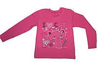 Кофточка для девочки розового цвета 98-104