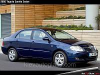 Лобовое стекло на Toyota Corolla 2002-07 г.в.