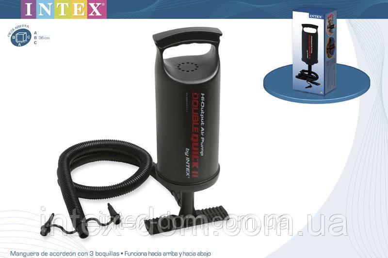 Насос ручной Intex Double Quick II Hi-Output 68614 киев