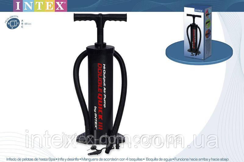 Насос ручной Hi-Output Hand Pump Intex 68615 киев