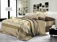 Евро набор постельного белья Ранфорс №218