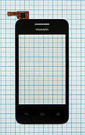Тачскрин сенсорное стекло для Huawei Ascend Y220 black
