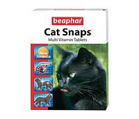 Beaphar (Беафар) Комплекс пищевых добавок для кошек, с креветками Cat snaps 75таб