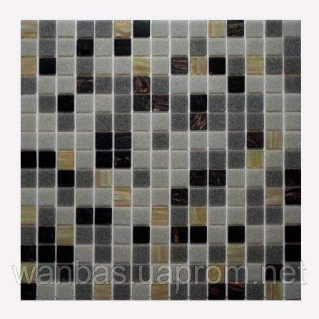 Мозаика Микс MONTE NEGRO (GS-LBL1 10%, FBL1 10%, FGR4 35%, FGR6 35%, GS-LG2 10%)
