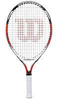 Детская теннисная ракетка Wilson Steam 23 2014 (WRT228800)
