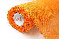 Натуральная джутовая сетка мешковина ЮТА - Оранжевая