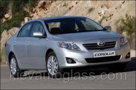 Лобовое стекло на Toyota Corolla 2007-12 г.в.