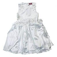 Симпатичное нарядное платье 15-409 для девочки от 4 до 9 лет (р. 28-34) ТМ Kids Couture Белый