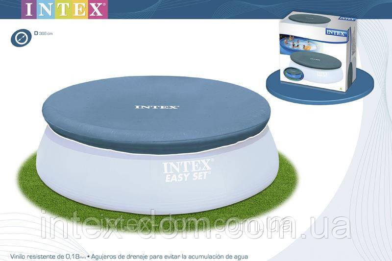 Тент-покрывало Intex 58919/28022 для надувных бассейнов  (366см) киев
