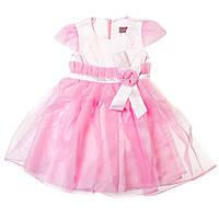 Элегантное праздничное платье Роза 15-404 для девочки от 4 до 9 лет (р. 28-34) ТМ Kids Couture Розовый Арт. 61103761