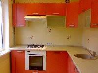 Кухни с фасадами из МДФ