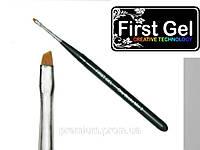 Кисть для китайской росписи, скошенный квадрат (Mini II First Gel)