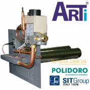 Газогорелочное устройство печное Arti 16 кВт УГ-16П (автоматика 630 EUROSIT, горелки Polidoro)
