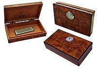 Хьюмидор для 5 сигар «Mini», Арт.92063, светлокоричневый, фото 1