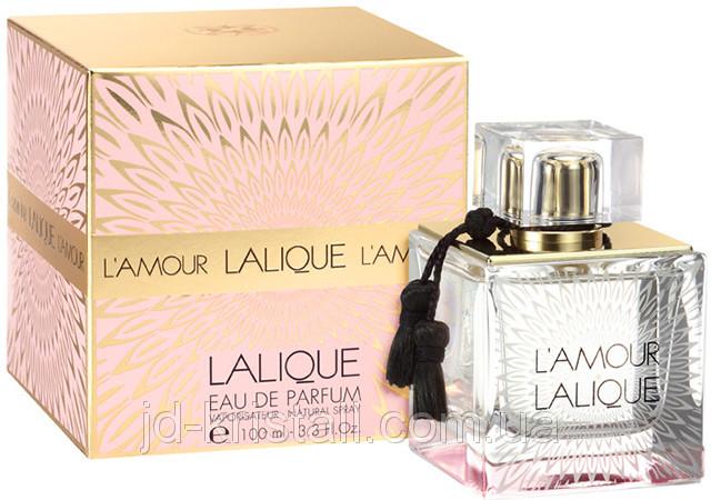 Lalique L'Amour парфюмированная вода 100 ml. (Лаликуа Л'Амур)