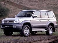 Лобовое стекло на Toyota Land Cruiser Prado 90 1996-02 г.в.