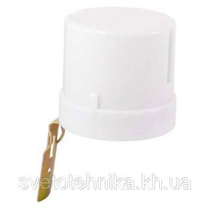 Фотореле(фотоэлемент) Feron SEN 27(LXP 03) 25A белый датчик освещённости