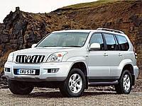 Лобовое стекло на Toyota Land Cruiser Prado 120 2003-09 г.в.