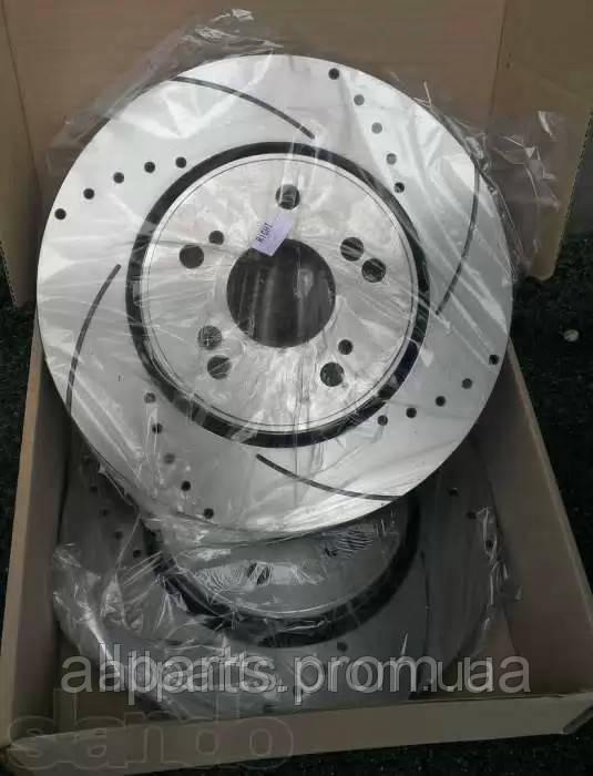 Тормозные диски перфорированные и с насечкой Power Friction, Power Stop, EBC