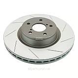 Тормозные диски перфорированные и с насечкой Power Friction, Power Stop, EBC, фото 2