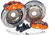 Тормозные диски перфорированные и с насечкой Power Friction, Power Stop, EBC, фото 9