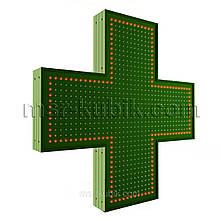 """Світлодіодний аптечний хрест 900х900 односторонній. Серія """"Standart Plus"""""""