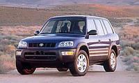 Лобовое стекло на Toyota Rav4 1994-00 г.в.
