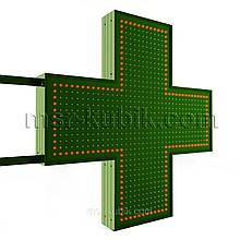 """Хрест аптечний 900х900 мм світлодіодний двосторонній. Серія """"Standart Plus"""""""
