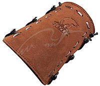 Крага Trophy Ridge Leather Bear Logo Armguard ц:бежевый