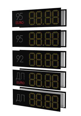 Светодиодные ценники для стел АЗС
