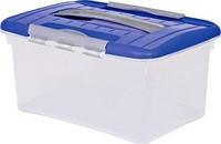 Контейнер для хранения пластиковый с ручкой и застежками 5 л 290Х201Х143 мм Curver CR-00031
