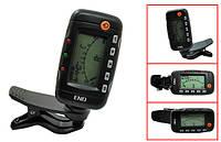 Гитарный тюнер ENO EMT320 метроном настройка настроечный клипса, LCD