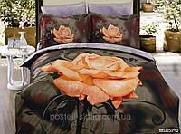 Постельное белье Bellissimo, сатин, фотопринт ТМ Arya (Ария) Турция