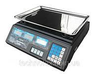 Электронные, торговые весы с калькулятором Спартак Elite Lux до 50 кг