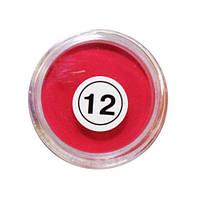 Акриловая пудра My Nail №12 (красная)