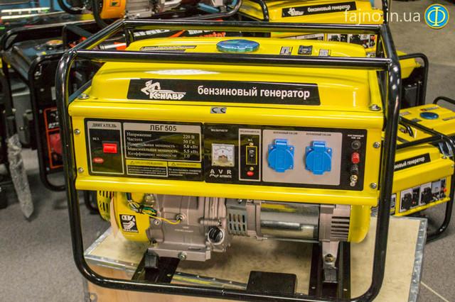 Бензиновый генератор Кентавр ЛБГ 505 фото 1