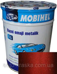 Автокраска (автоэмаль) Mobihel металлик Малина 1л.