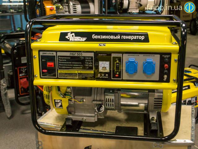 Бензиновый генератор Кентавр ЛБГ 505  фото 12