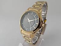 Часы  Q@Q  classic 5Bar металлический браслет, цвет золото, не боятся воды