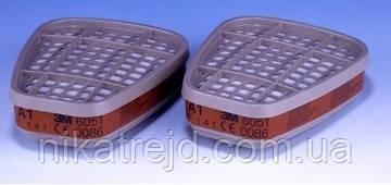 Фильтры серии ЗМ  6000 для полумасок и полных масок